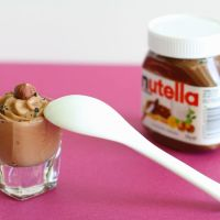 Salted Nutella Mousse