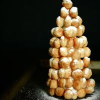 Puff Pastry Tree with Cinnamon and Sugar Dust