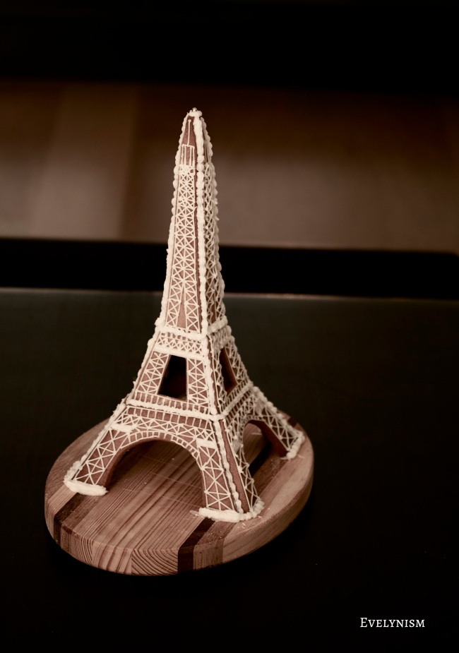 Gingerbread Eiffel Tower
