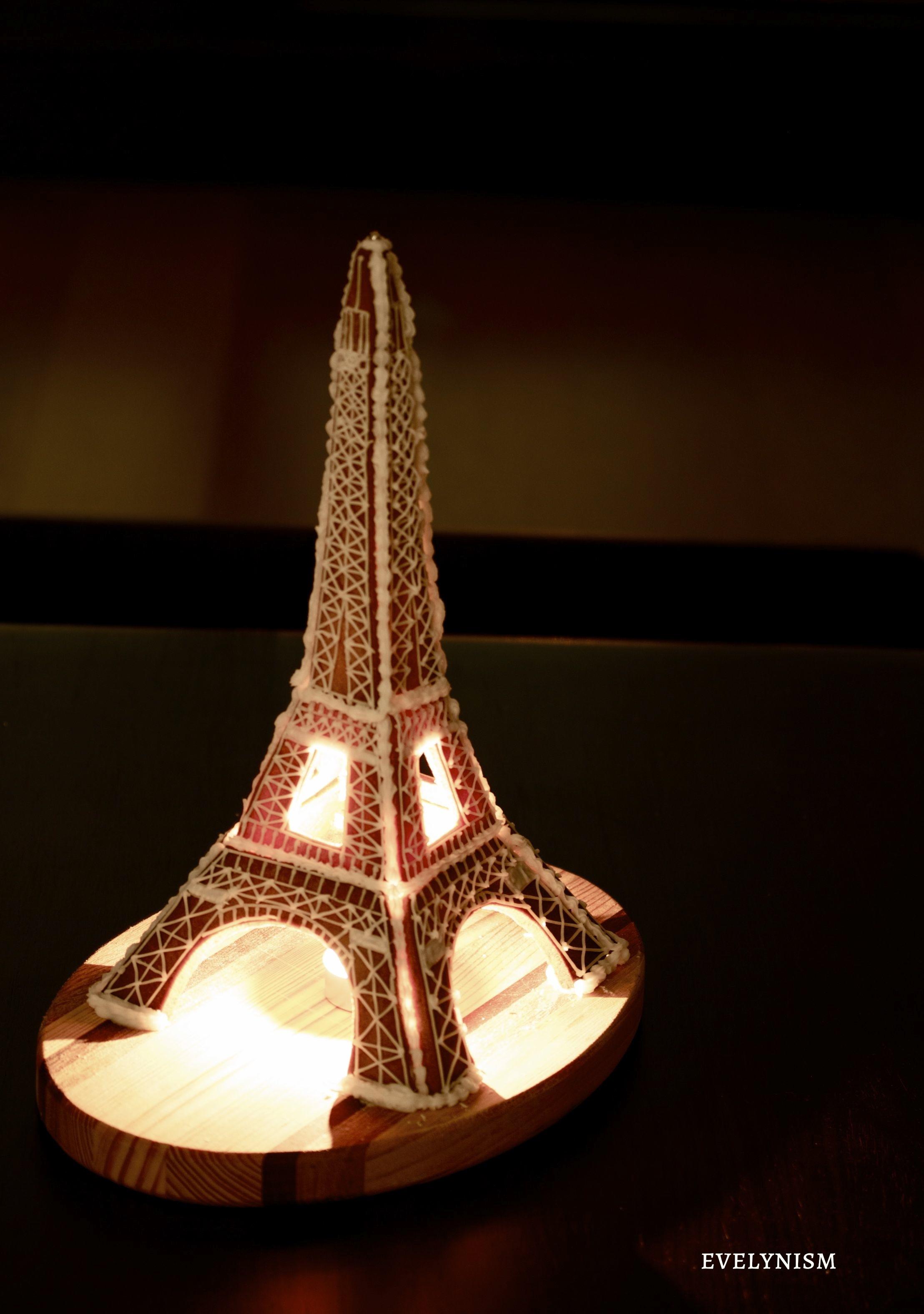 Gingerbread Eiffel Tower | 100 Days Of Evelyn