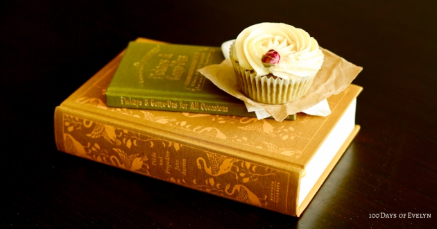 Green Tea Rose Cupcake