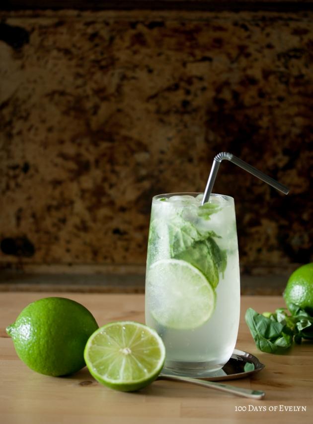 Lime Basil Mojito