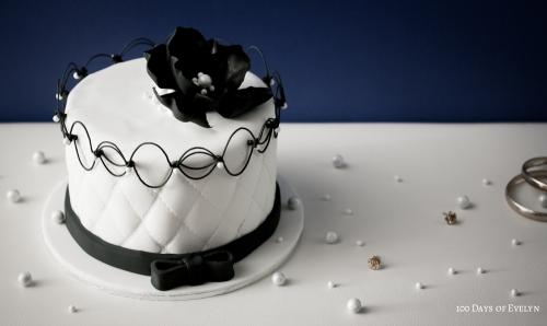 Oriental Stringwork Chanel Cake