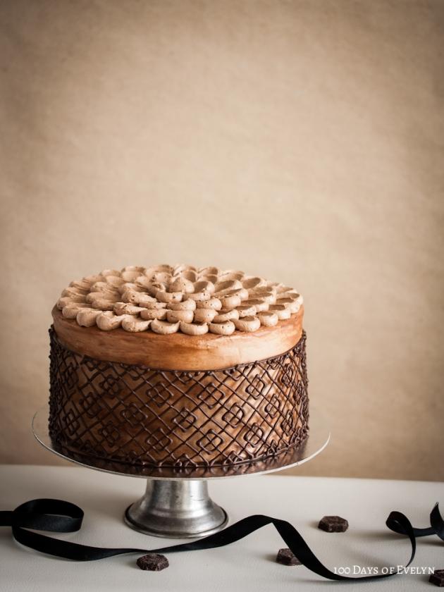 Chocolate Cage Cake 3