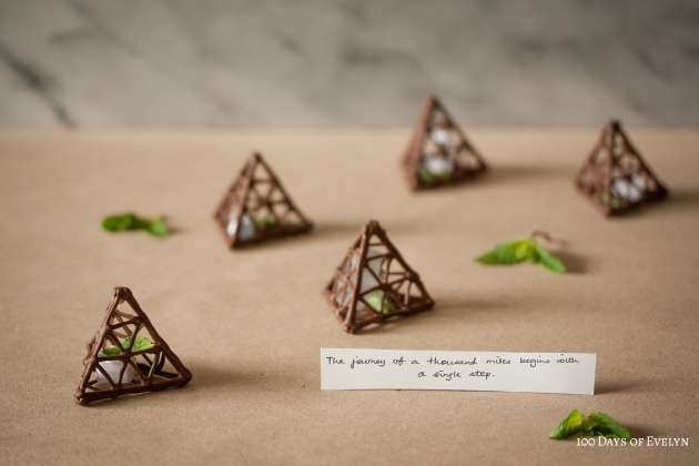 Chocolate Fortune Pyramids 2