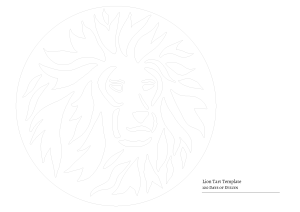 Lion Tart Template-01