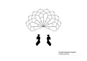 Peacock Profiterole Template-01