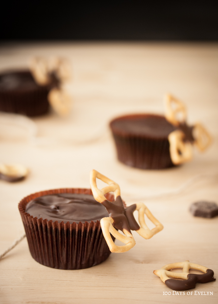 Pretzel Chocolate Cupcakes | 100 Days Of Evelyn