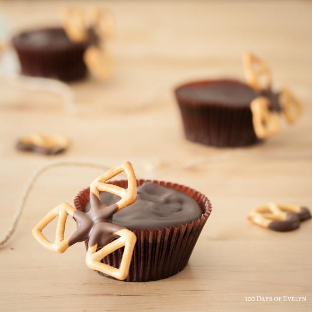 Pretzel Chocolate Cupcakes