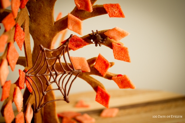 Halloween Gingerbread Tree