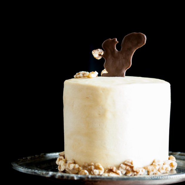 Squirrel Coffee Walnut Cake 2
