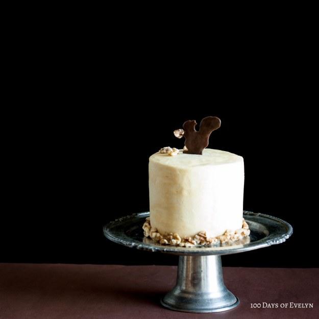 Squirrel Coffee Walnut Cake Recipe