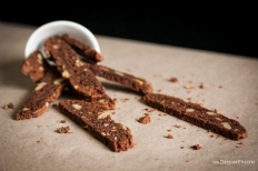 Double Chocolate Walnut Biscotti