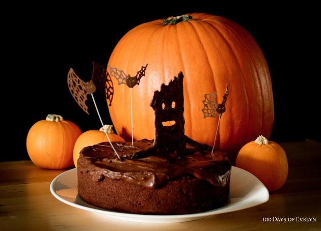 Halloween Cake 3